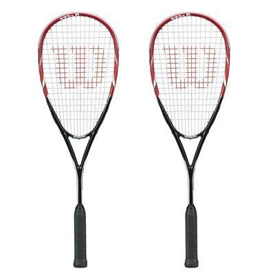 Wilson Tour 170 Squash Racket Double Pack