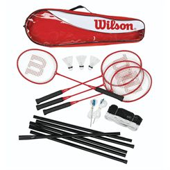 Wilson Tour 4 Player Badminton Set