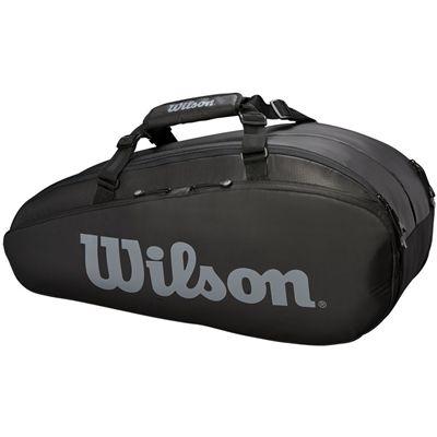 Wilson Tour 6 Racket Bag AW19 - Black - Side