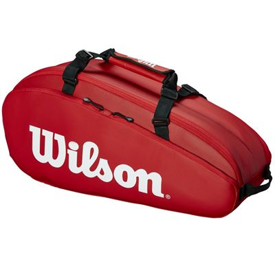 Wilson Tour 6 Racket Bag AW19 - Red - Side