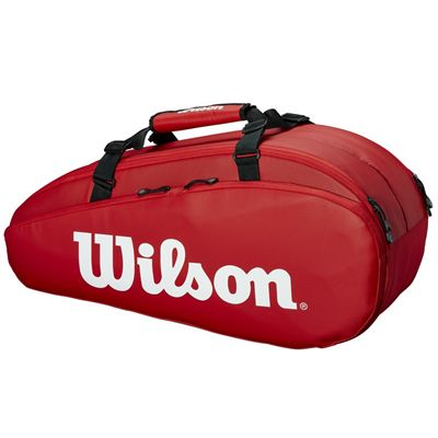 Wilson Tour 6 Racket Bag AW19 - Red