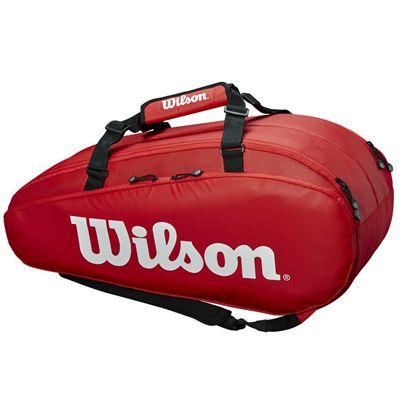 Wilson Tour 9 Racket Bag AW19 - Red