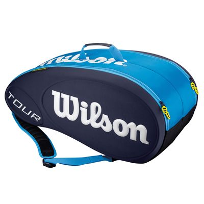 Wilson Tour 9 Racket Bag - Blue