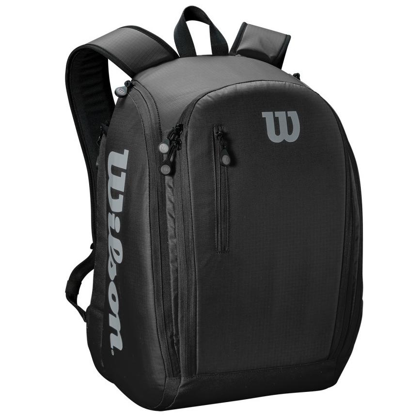 Wilson Tour Backpack - Black/Grey