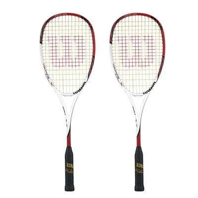 Wilson Tour BLX Squash Racket Double Pack
