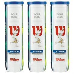 Wilson Tour Club Tennis Balls - 1 doz