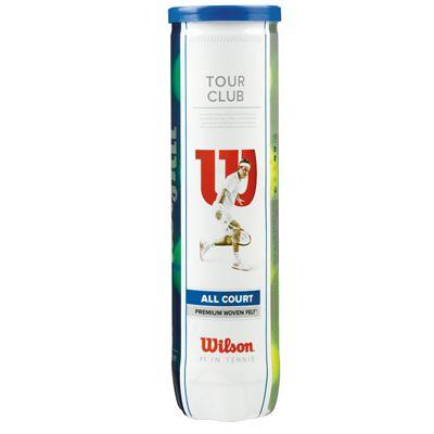 Wilson Tour Club Tennis Balls - Tube of 4
