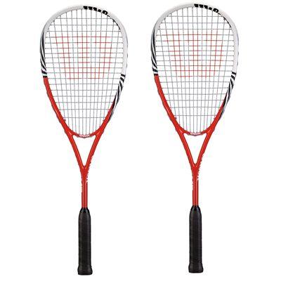 Wilson Tour Comp Squash Racket Double Pack