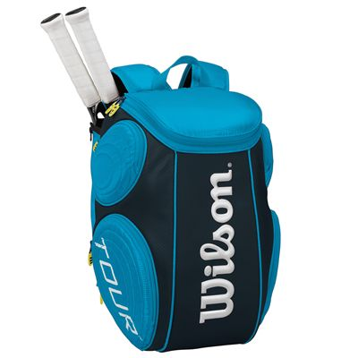 Wilson Tour Moulded Large Backpack - Juice Blue