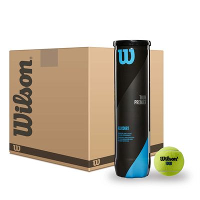 Wilson Tour Premier All Court Tennis Balls - 12 dozen