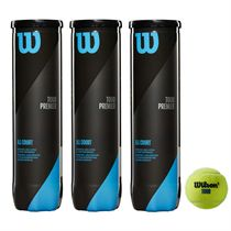 Wilson Tour Premier All Court Tennis Balls - 1 dozen