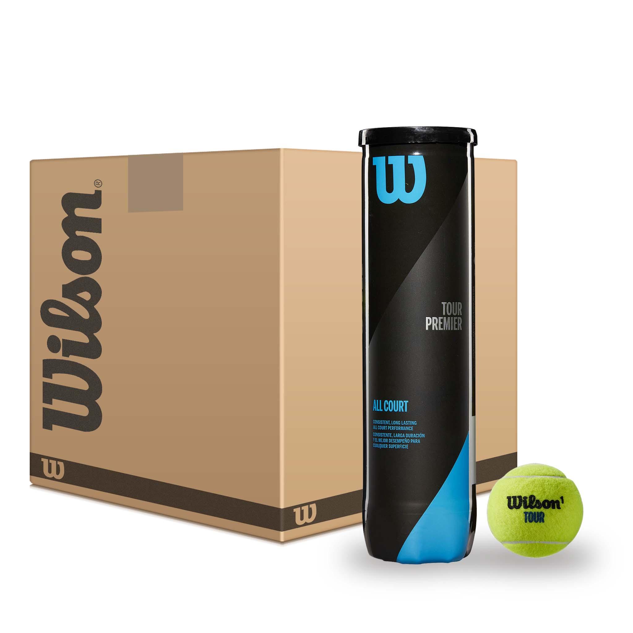 Wilson Tour Premier All Court Tennis Balls - 6 dozen