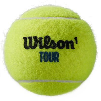 Wilson Tour Premier All Court Tennis Balls - Tube of 4 - Ball