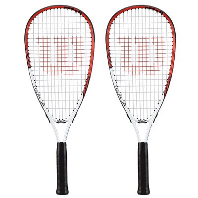 Wilson Tour Pro Junior Squash Racket Double Pack