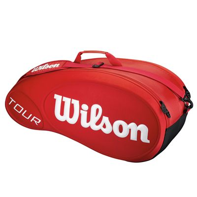 Wilson Tour Red 6 Racket Bag - Red