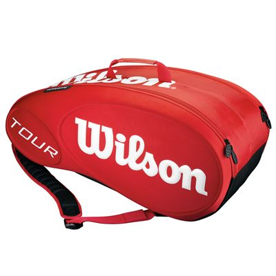 Wilson Tour Red 9 Racket Bag