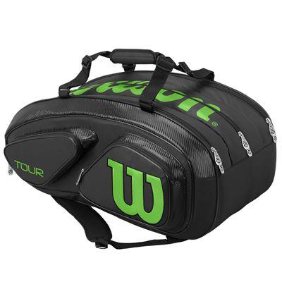 Wilson Tour V 15 Racket Bag SS18 - Black - Side