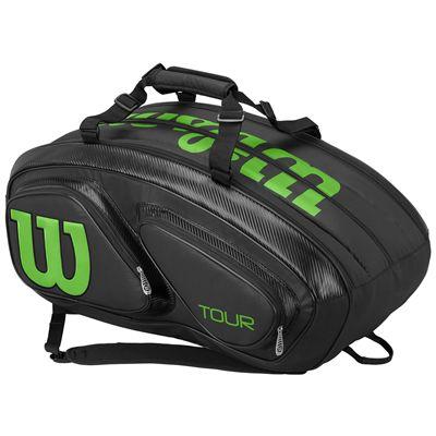 Wilson Tour V 15 Racket Bag SS18 - Black