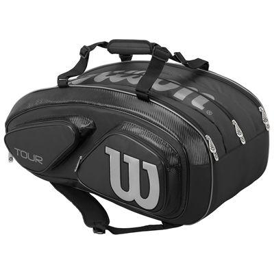 Wilson Tour V 15 Racket Bag-Black-Back