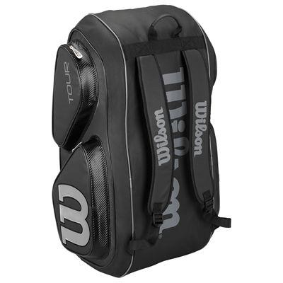 Wilson Tour V 15 Racket Bag-Black-Stand-Up