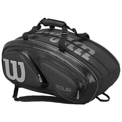 Wilson Tour V 15 Racket Bag-Black