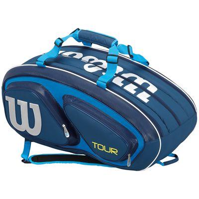 Wilson Tour V 15 Racket Bag-Blue