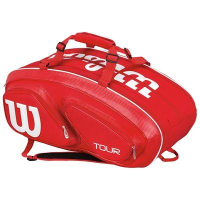 Wilson Tour V 15 Racket Bag-Red