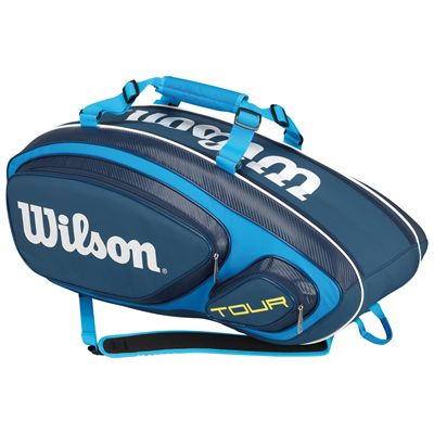 Wilson Tour V 9 Racket Bag-Blue