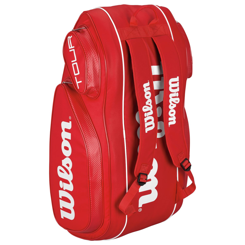 Wilson Tour V 9 Racket Bag Sweatband Com