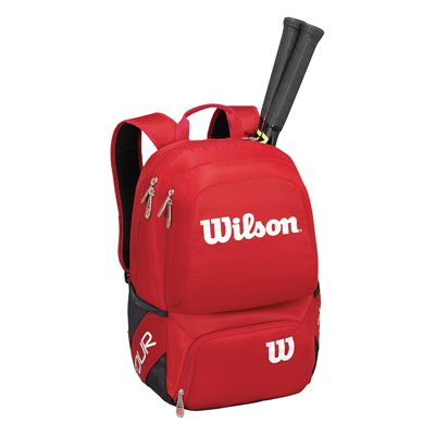 Wilson Tour V Backpack with racket