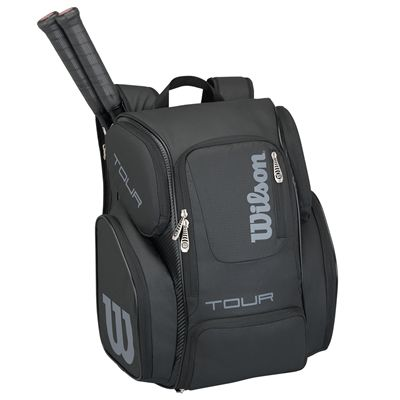 Wilson Tour V Large Backpack - Black - In Use