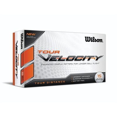 Wilson Tour Velocity - Tour Distance Golf Balls