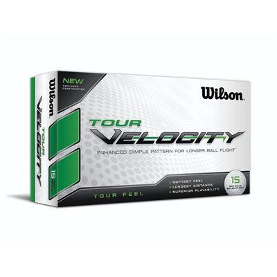 Wilson Tour Velocity - Tour Feel Golf Balls