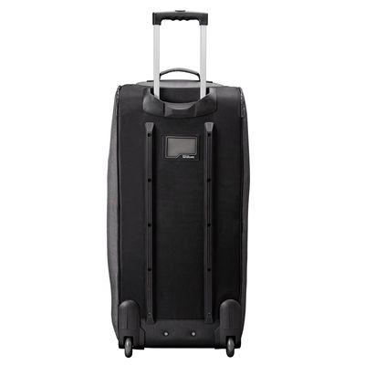 Wilson Traveler Wheeled Coach Duffle Bag - Open - Standing