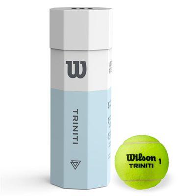 Wilson Triniti Tennis Balls - Can of 4 Wilson Triniti Tennis Balls - Can of 4