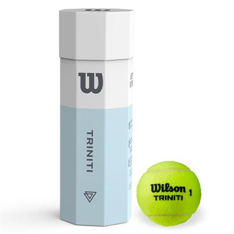 Wilson Triniti Tennis Balls - Can of 4
