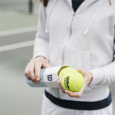Wilson Triniti Tennis Balls - Can of 4 - Lifestyle