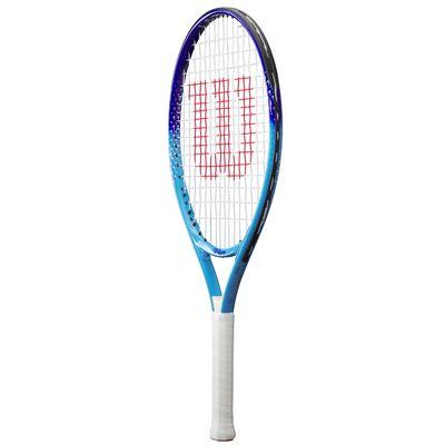 Wilson Ultra Blue 23 Junior Tennis Racket - Angle