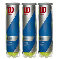 Wilson Ultra Club All Court Tennis Balls - 1 Dozen