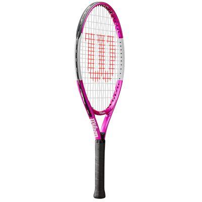 Wilson Ultra Pink 23 Junior Tennis Racket - Slant