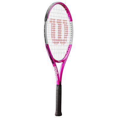 Wilson Ultra Pink 25 Junior Tennis Racket - Slant
