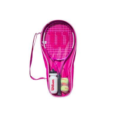Wilson Ultra Pink 25 Junior Tennis Starter Set - set
