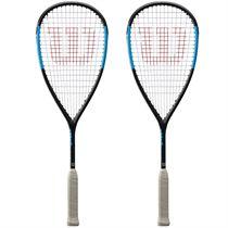 Wilson Ultra Team Squash Racket Double Pack