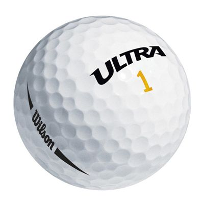 Wilson Ultra Ultimate Distance 15 Ball-White-Ball