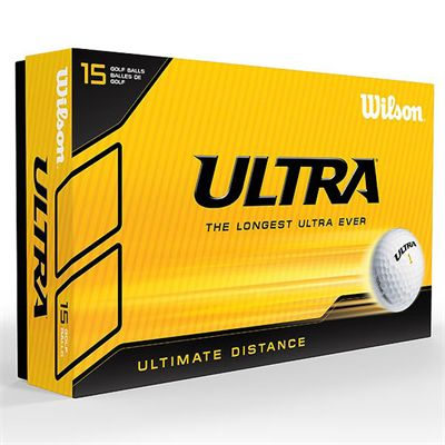 Wilson Ultra Ultimate Distance 15 Ball-White-Box