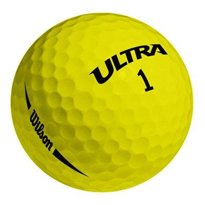 Wilson Ultra Ultimate Distance 15 Ball-Yellow-Ball