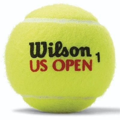 Wilson US Open Tennis Balls - 1 dozen - Single Ball