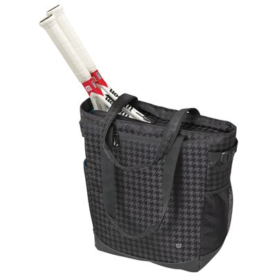 Wilson Verve Tote Bag with racquets-Black