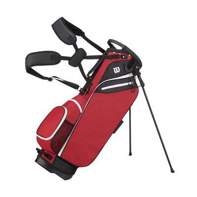 Wilson W Golf Carry Bag - Red