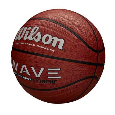 Wilson Wave Pure Shot Extreme Basketball - Angled